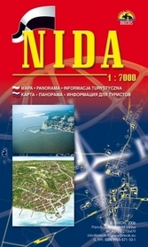NIDA plan miasta 1:7 000 BRIEDIS