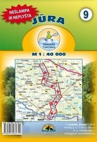 JURA mapa kajakowa 1:40 000 BRIEDIS