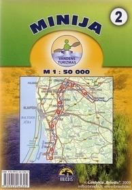 MINIA MINIJA mapa kajakowa 1:50 000 BRIEDIS