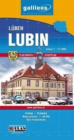 LUBIN POWIAT LUBIŃSKI plan miasta 1:11 000 PLAN