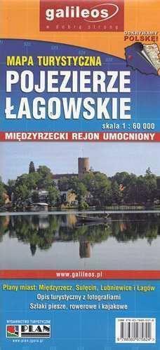 POJEZIERZE ŁAGOWSKIE mapa tur. PLAN 2014