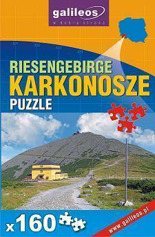 KARKONOSZE puzzle 160 elementów PLAN