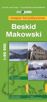 BESKID MAKOWSKI mapa turystyczna 1:90 000 EUROPILOT