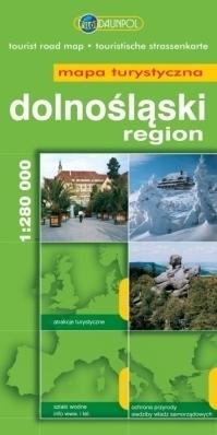 DOLNOŚLĄSKI REGION mapa turystyczna 1:280 000 EUROPILOT