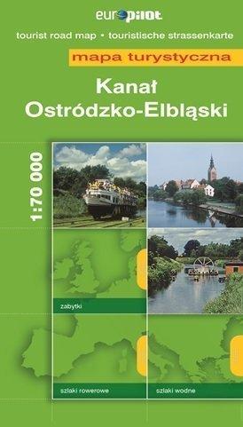 KANAŁ OSTRÓDZKO-ELBLĄSKI mapa turystyczna 1:70 000 DAUNPOL