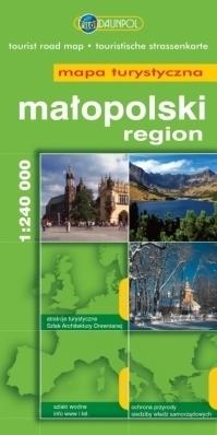 MAŁOPOLSKI REGION mapa turystyczna 1:240 000 DAUNPOL