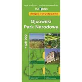 OJCOWSKI PARK NARODOWY mapa turystyczna 1:25 000 EUROPILOT