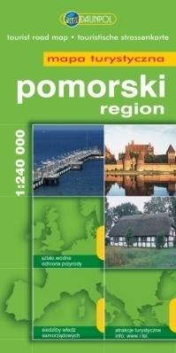 POMORSKI REGION mapa turystyczna 1:240 000 DAUNPOL