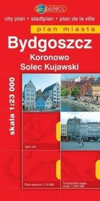 BYDGOSZCZ KORONOWO SOLEC KUJAWSKI plan miasta 1:23 000 EUROpilot