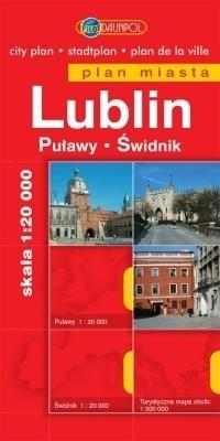LUBLIN plan miasta 1:20 000 EUROpilot
