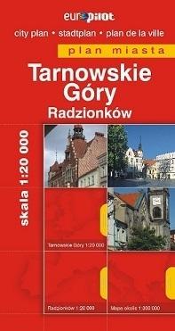 TARNOWSKIE GÓRY plan miasta 1:20 000 EUROPILOT