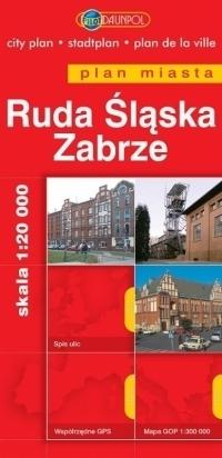 RUDA ŚLĄSKA ZABRZE plan miasta 1:20 000 EUROPILOT