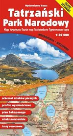 TATRZAŃSKI PARK NARODOWY mapa turystyczna wodoodporna 1:30 000 GAUSS