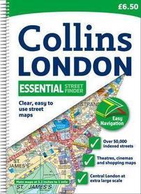 LONDYN atlas miasta 1:20 000 COLLINS