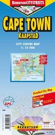 KAPSZTAD CAPE TOWN mapa laminowana 1:15 000 BERNDTSONMAP