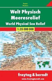 ŚWIAT FIZYCZNY mapa ścienna 1:35 000 000 FREYTAG&BERNDT