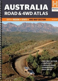 AUSTRALIA ROAD & 4WD ATLAS atlas samochodowy HEMA