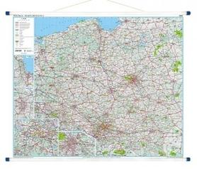 POLSKA mapa drogowa 1:500 000 GLOBALMAP