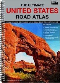 STANY ZJEDNOCZONE road atlas HEMA MAPS