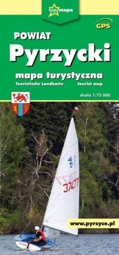 POWIAT PYRZYCKI mapa turystyczna 1:75 000 CARTOMEDIA
