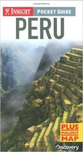 PERU przewodnik INSIGHT POCKET GUIDE plus plan miasta