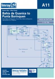A11 Bahia de Guanica - Punta Borinquen mapa morska 1:116 700 IMRAY