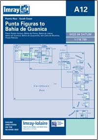 A12 Punta Figuras - Bahia de Guanica mapa morska 1:116 700 IMRAY