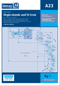 A23 Virgin Islands - St Croix mapa morska 1:285 000 IMRAY