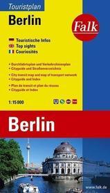 BERLIN plan miasta FALK