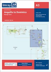 A3 Anguilla - Dominika mapa morska 1:400 000 IMRAY