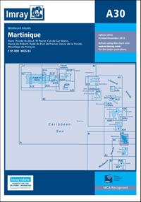 A30 Martynika mapa morska 1:95 000 IMRAY