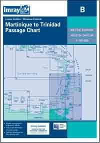 B MARTYNIKA - TRINIDAD mapa morska 1:750 000 IMRAY