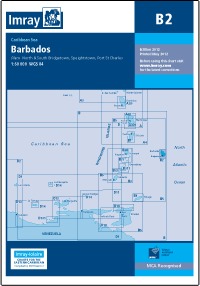B2 Barbados mapa morska 1:60 000 IMRAY