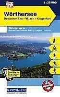 WORTHERSEE mapa turystyczna 1:35 000 KUMMERLY + FREY