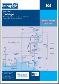 B4 Tobago mapa morska 1:65 000 IMRAY