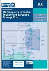B5 Martynika - Tobago - Barbados mapa morska 1:500 000 IMRAY