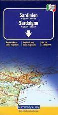 SARDYNIA CALIGARI SASSARI mapa samochodowa 1:200 000 KUMMERLY FREY