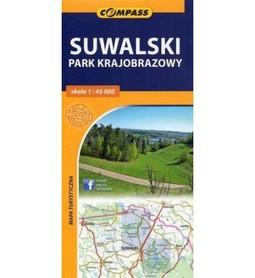 SUWALSKI PARK KARJOBRAZOWY / WIGIERSKI PARK NARODOWY mapa turystyczna 1:45 000 COMPASS