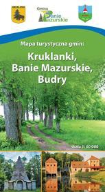 KRUKLANKI BANIE MAZURSKIE BUDRY mapa turystyczna 1:60 000 COMPASS