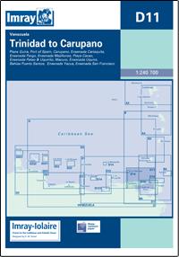 D11 Trinidad - Carupano mapa morska 1:240 700 IMRAY
