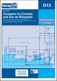 D12 Carupano - Cumana i Isla de Margarita mapa morska 1:173 000 IMRAY