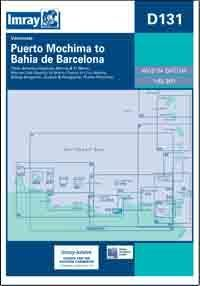 D131 Puerto Mochima - Bahia de Barcelona mapa morska 1:63 900 IMRAY