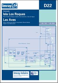 D22 Isla los Roques - Isla de Aves mapa morska IMRAY