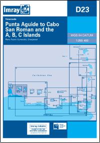 D23 Punta Aguide - Cabo San Roman mapa morska 1:255 400 IMRAY
