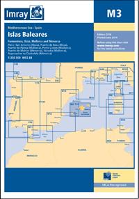 M3 Baleary mapa morska 1:350 000 IMRAY