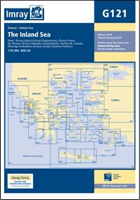 G121 Morze Śródlądowe mapa morska 1:95 000 IMRAY