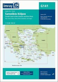 G141 Zatoka Sarońska mapa morska 1:110 000 IMRAY 2019