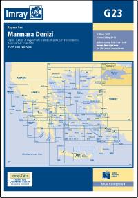 G23 Morze Marmara mapa morska 1:275 000 IMRAY