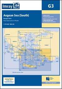 G3 Południowe Morze Egejskie mapa morska 1:750 000 IMRAY