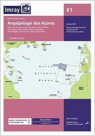 E1 AZORY Arquipelago dos Acores mapa morska 1:750 000 IMRAY
